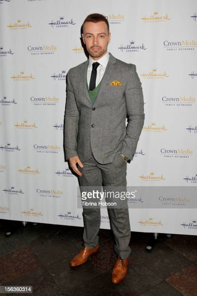 Joey Lawrence attends Hallmark Channel's Holiday event premiere screening of 'Hitched For The Holidays' at La Piazza Restaurant on November 13 2012...