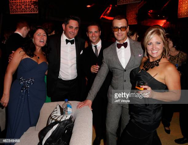 Joey Lawrence attends The Weinstein Company Netflix's 2014 Golden Globes After Party presented by Bombardier FIJI Water Lexus Laura Mercier Marie...