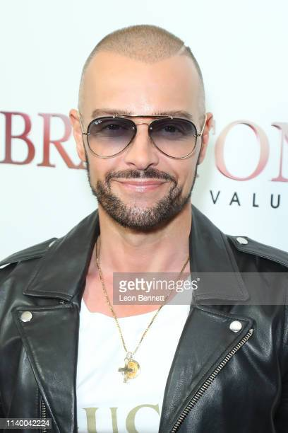 "Joey Lawrence attends WE tv's ""Braxton Family Values"" Season 6 Premiere at The Doheny Room on April 02, 2019 in West Hollywood, California."