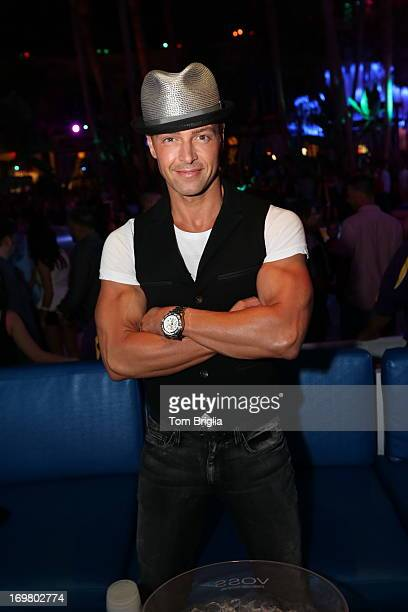 Joey Lawrence hosts The Pool After Dark at Harrah's Resort on Saturday June 1 2013 in Atlantic City New Jersey