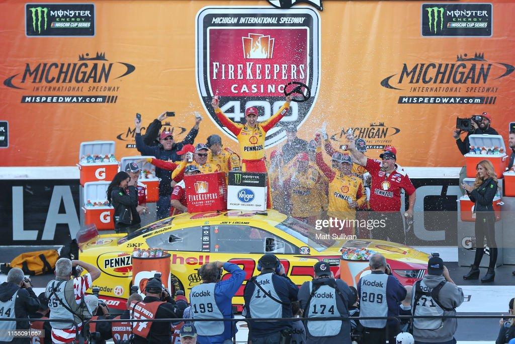 Monster Energy NASCAR Cup Series FireKeepers Casino 400 : News Photo