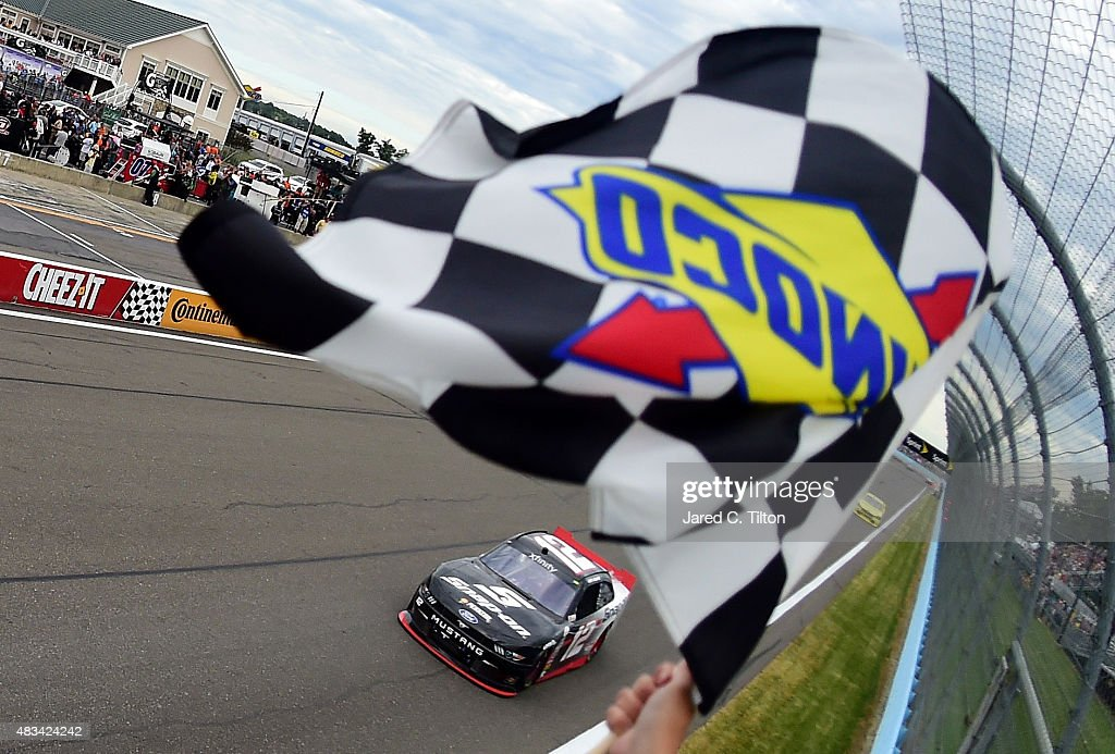 NASCAR XFINITY Series Zippo 200 at The Glen : ニュース写真