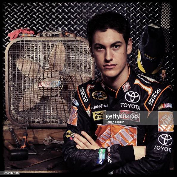 Joey Logano, Driver Of The The Home Depot Toyota, Poses