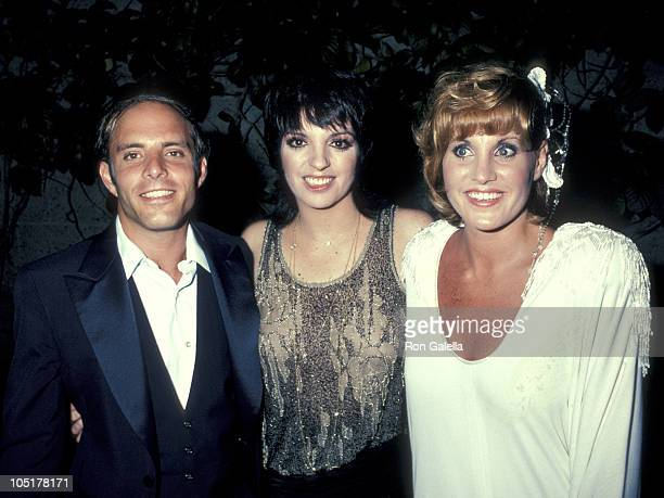 Joey Luft Liza Minnelli and Lorna Luft during Premiere of A Star Is Born at Samuel Goldwyn Theatre in Los Angeles California United States
