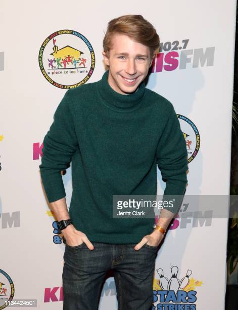 Joey Luthman attends A Place Called Home's Annual Stars And Strikes Celebrity Bowling And Poker Tournament at PINZ Bowling & Entertainment Center on...