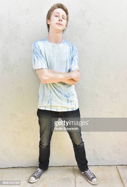 Joey Luthman attends Hunter Payton's 13th Birthday Party at Private Residence on October 1 2017 in Simi Valley California