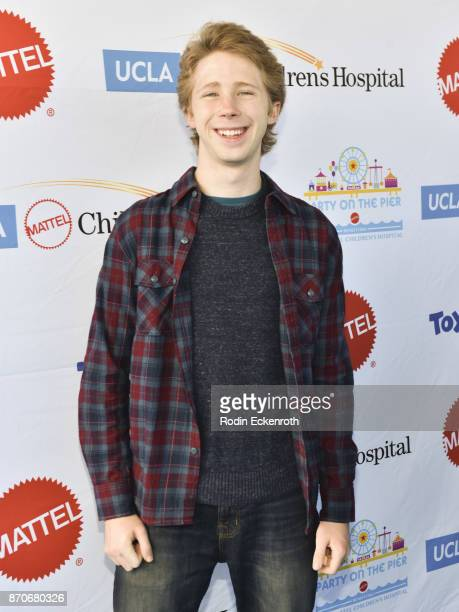 Joey Luthman attends the 18th Annual Mattel Party on the Pier at Pacific Park on Santa Monica Pier on November 5 2017 in Santa Monica California