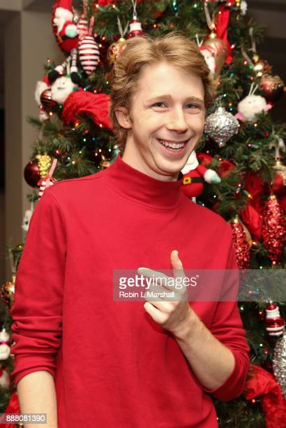 Joey Luthman attends the Holiday Tour of the Hollywood Museum at The Hollywood Museum on December 7 2017 in Hollywood California