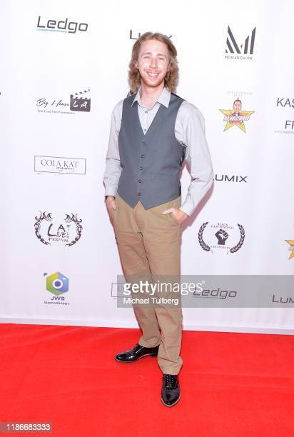 Joey Luthman attends the Kash Hovey and Friends Film Block at Film Fest LA at Regal Cinemas LA LIVE Stadium 14 on November 09 2019 in Los Angeles...