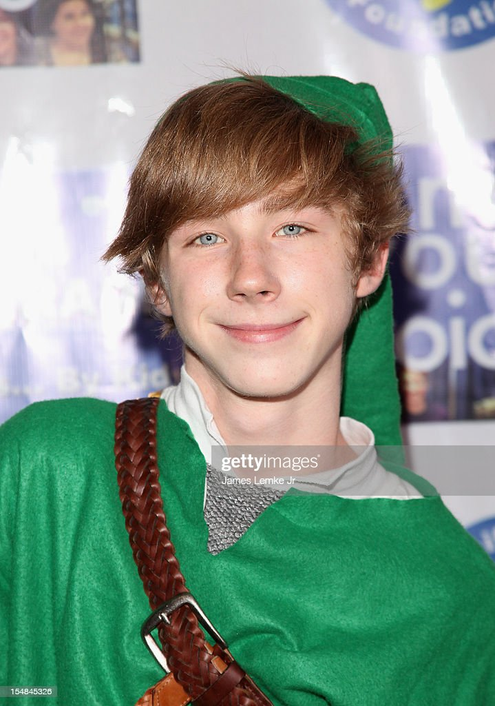 Joey Luthman attends the 'Show Your Character' a costume benefit and concert for The Jennifer Smart Foundation's Find Your Voice Program held at the Smooth Sound Multimedia on October 27, 2012 in Van Nuys, California.