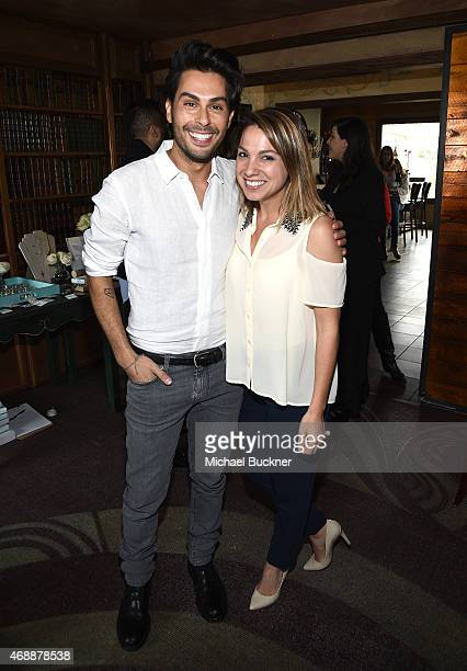 Joey Maalouf and Sarah Boyd attends The Glam App's Glamchella at the Petit Ermitage on April 7, 2015 in Los Angeles, California.