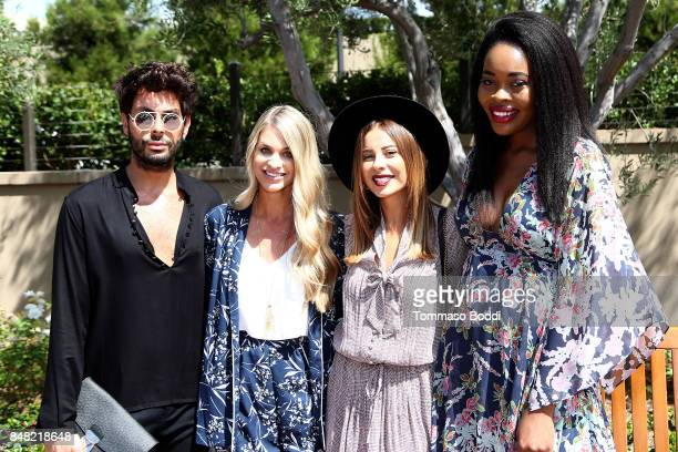 Joey Maalouf Ashley Tarkington Emily Cholakian and Keyma Morgan attend the Fashion Island's StyleWeekOC Presented By SIMPLY on September 16 2017 in...