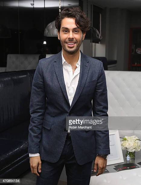 Joey Maalouf attends The Glam App Launches in New York on April 23 2015 in New York City