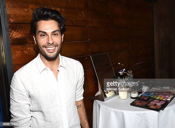 Joey Maalouf attends The Glam App's Glamchella at the Petit Ermitage on April 7, 2015 in Los Angeles, California.