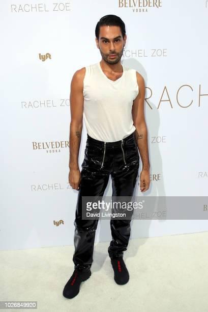 Joey Maalouf attends the Rachel Zoe Spring 2019 LA Presentation at Hotel BelAir on September 4 2018 in Los Angeles California