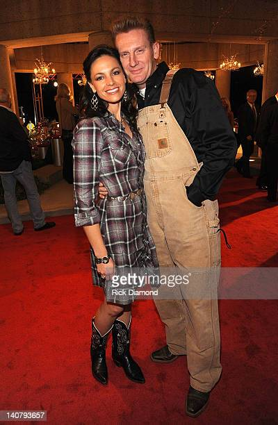 Joey Martin Feek and Rory Lee Feek attends the 57th Annual BMI Country Awards at BMI on November 10 2009 in Nashville Tennessee