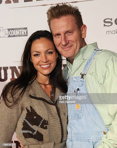 """Joey Martin Feek and Rory Lee Feek of Joey + Rory attend the """"Country Strong"""" Premiere at Regal Green Hills on November 8, 2010 in Nashville,..."""