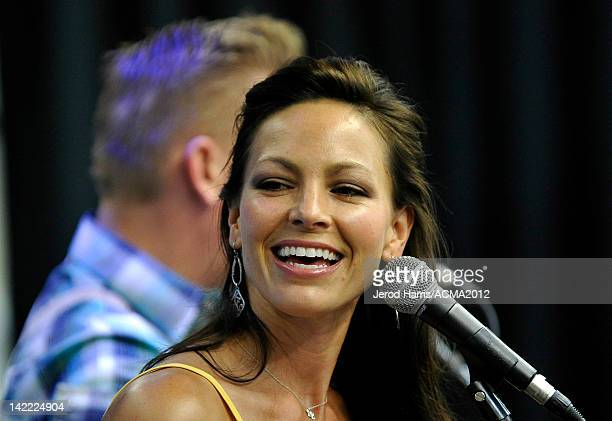 Joey Martin Feek of the musical duo Joey + Rory performs onstage at the ACM Experience at the Mandalay Bay Resort & Casino on March 31, 2012 in Las...