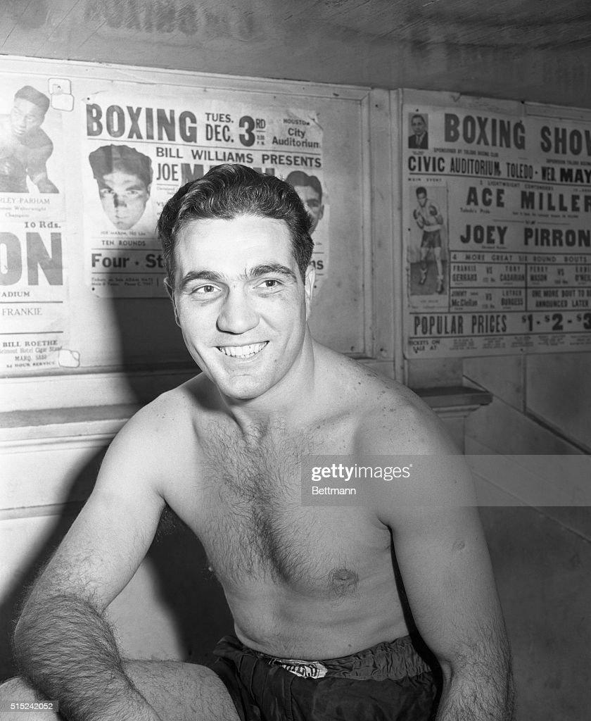 Boxer Joey Maxim : News Photo