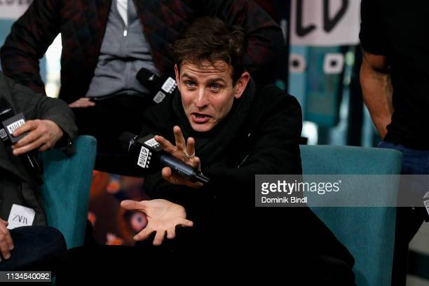 Joey McIntyre attends the Build Series to discuss 'Hangin' Tough' reissue at Build Studio on March 08 2019 in New York City