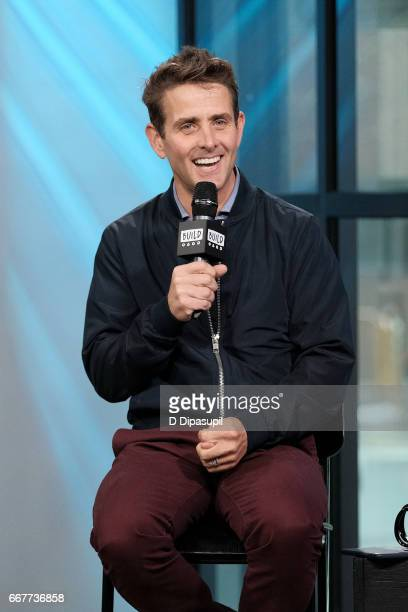 Joey McIntyre attends the Build Series to discuss 'Return of the Mac' at Build Studio on April 12 2017 in New York City