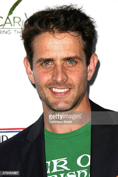 Joey McIntyre attends the USIreland alliance preAcademy Awards event held at Bad Robot on February 27 2014 in Santa Monica California