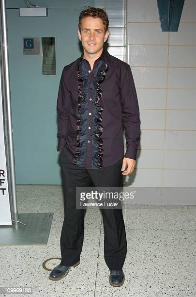 Joey McIntyre during 3rd Annual Tribeca Film Festival ''Tony N' Tina's Wedding'' Premiere at Stuyvesant High School in New York City New York United...