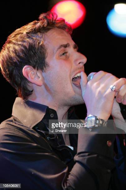 Joey McIntyre during Joey McIntyre 809 Tour at the Knitting Factory May 27 2004 at The Knitting Factory in Hollywood California United States