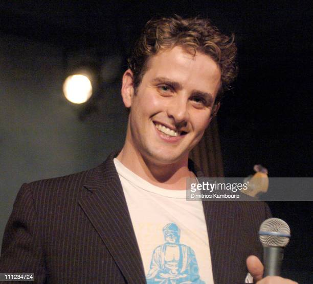 Joey McIntyre during Joey McIntyre Performs At NA at NA in New York City New York United States