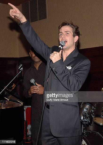 Joey McIntyre during Noel Ashman Throws Party for Joey McIntyre Celebrating the Release of His New Album 'Talk to Me' and 'Dancing with the Stars'...