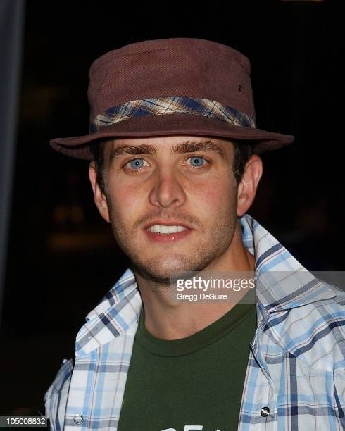 Joey McIntyre during Swimfan Premiere at Sunset Canyon Recreation Center in Westwood California United States