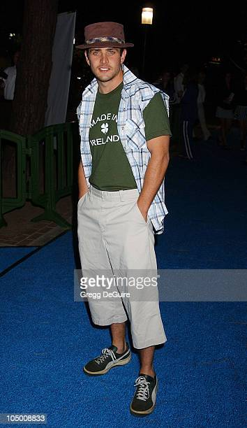 Joey McIntyre during 'Swimfan' Premiere at Sunset Canyon Recreation Center in Westwood California United States
