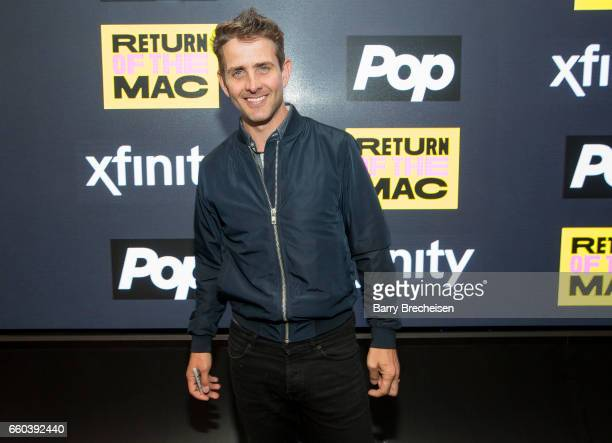 Joey McIntyre during the Fan Meet Greet To Promote Return of the Mac at Studio Xfinity on March 29 2017 in Chicago Illinois