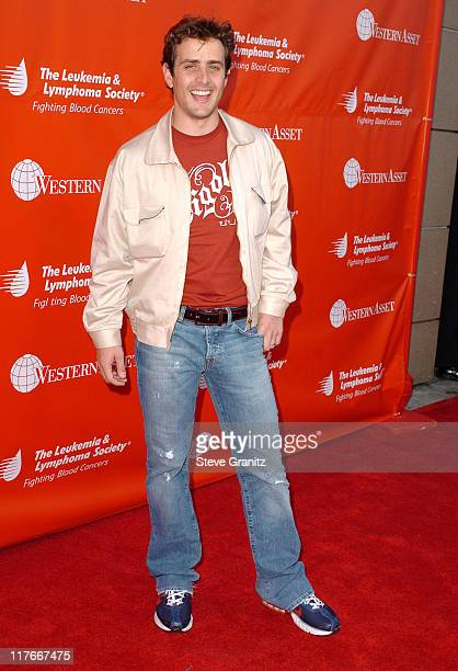 Joey McIntyre during The Leukemia Lymphoma Society Presents The Inaugural Celebrity Rock 'N Bowl Event at Lucky Strike Lanes in Hollywood California...