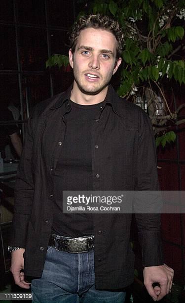 Joey McIntyre during The New York Model Party at Park Restaurant in New York City New York United States