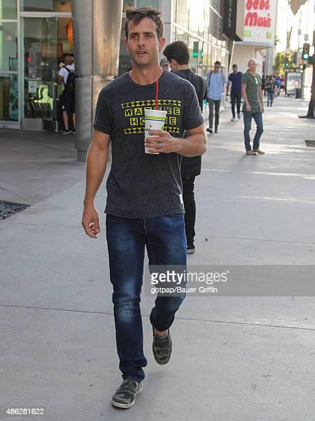 Joey McIntyre is seen on September 02 2015 in Los Angeles California