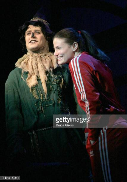 Joey McIntyre of New Kids on The Block and Idina Menzel both played final show