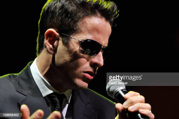 Joey McIntyre performs at the Palms Casino Resort on February 5, 2011 in Las Vegas, Nevada.