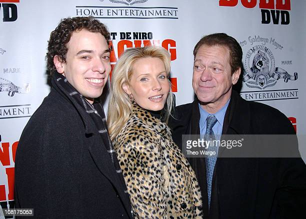 Joey Piscopo Kimberly Piscopo and Joe Piscopo during Raging Bull 25th Anniversary and Collector's Edition DVD Debut at Ziegfield / Cipriani in New...