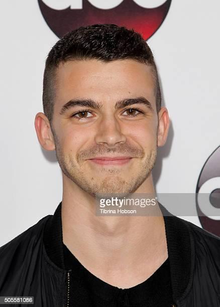 Joey Pollari attends the Disney/ABC 2016 Winter TCA Tour at Langham Hotel on January 9, 2016 in Pasadena, California.