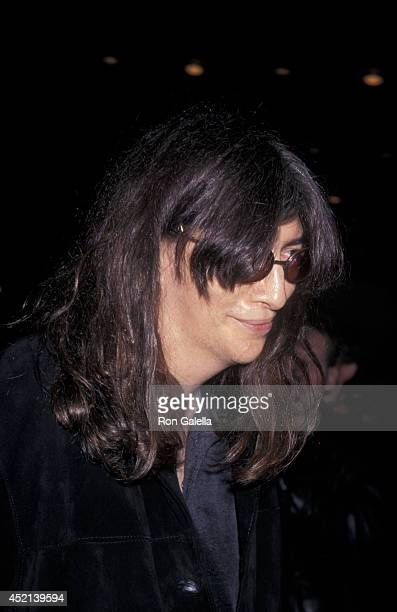 Joey Ramone attends the Sony Party for 40th Annual Grammy Awards on February 26 1998 at the Manhattan Center in New York City