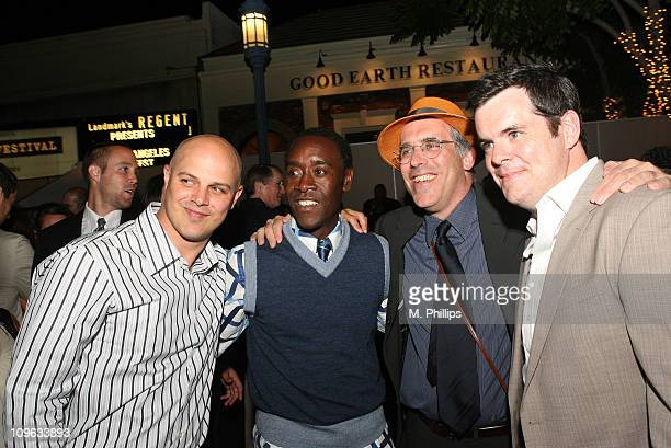 Joey Rappa executive producer Don Cheadle William Horberg executive producer and Josh McLaughlin producer