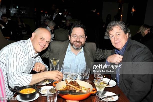 Joey Rappa Michael Barker and Tom Bernard attend WATER WALL Restaurant Hosts Tribeca Film Festival Screening of GET LOW at Water Wall on April 27...