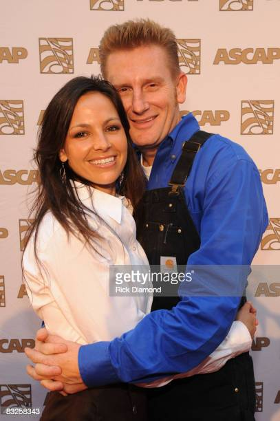 Joey Rory on The Red Carpet at the 46th Annual ASCAP Country Music Awards at the Ryman Auditorium on October 13 2008 in Nashville Tennessee