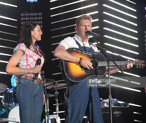 Joey & Rory performs during the 2010 CMA Music Festival on June 12, 2010 in Nashville, Tennessee.