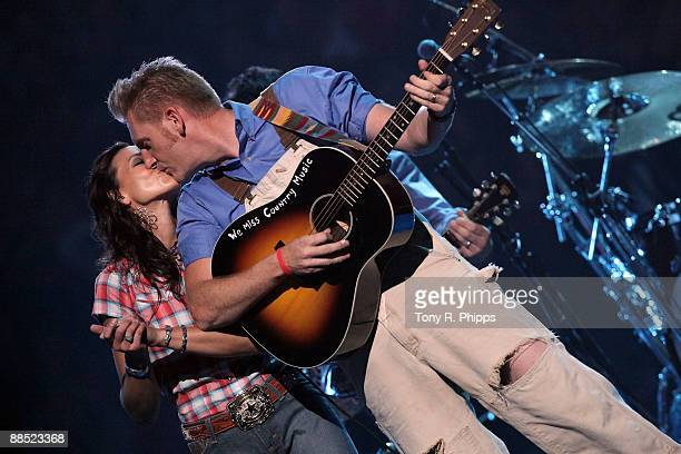 Joey & Rory performs on stage at the 2009 CMT Music Awards at the Sommet Center on June 16, 2009 in Nashville, Tennessee.