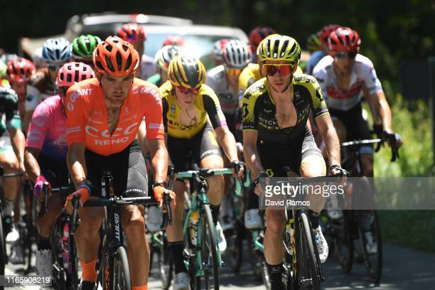 Joey Rosskopf of The United States and CCC Team / Simon Yates of Great Britain and Team MitcheltonScott / during the 39th Clásica Ciclista San...