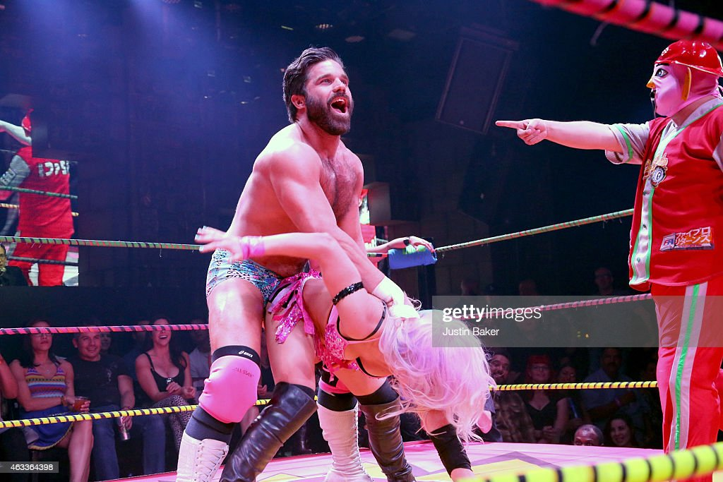 Joey Ryan At Lucha VaVOOM Valentineu0027s Show U0027Dangerous/Beautifulu0027 At The  Mayan On