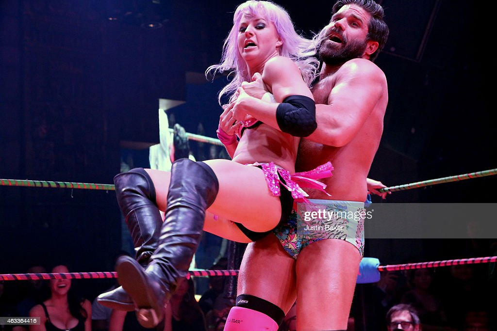 Schön Joey Ryan At Lucha VaVOOM Valentineu0027s Show U0027Dangerous/Beautifulu0027 At The  Mayan On