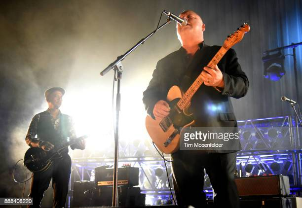 Joey Santiago and Black Francis of Pixies perform at the Fox Theater on December 7 2017 in Oakland California